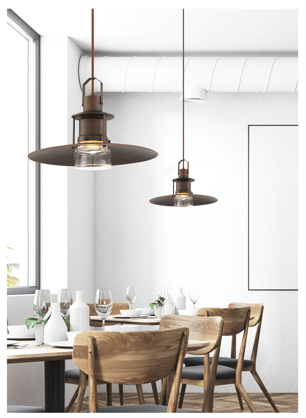 0f9cede6e122 ... lighting plays a bigger role than you might expect. Restaurant lighting  can greatly affect a customers dining experience. Using pendant lighting is  an ...
